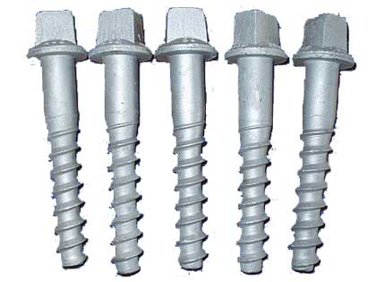 Ss series screw spike