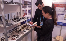 agico rail fasteners in canton fair
