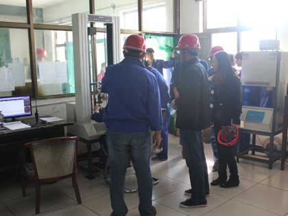 Bengle clients visit test center